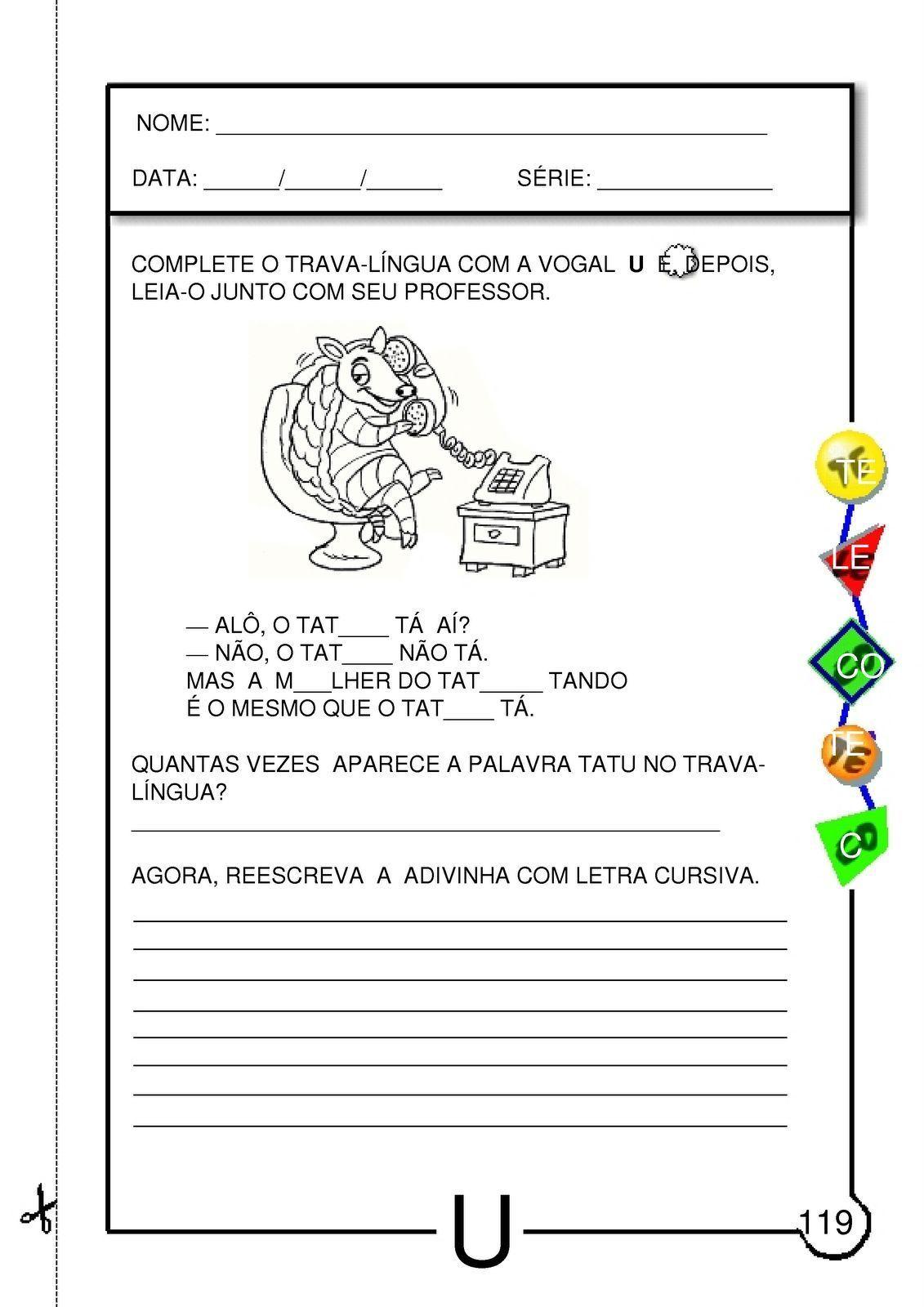 Apostila Educacao Infantil 4 Anos Para Baixar Gratis Atividades