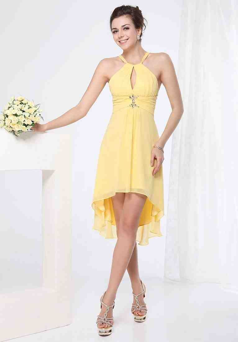 Short Yellow Bridesmaid Dresses yellow bridesmaid dresses