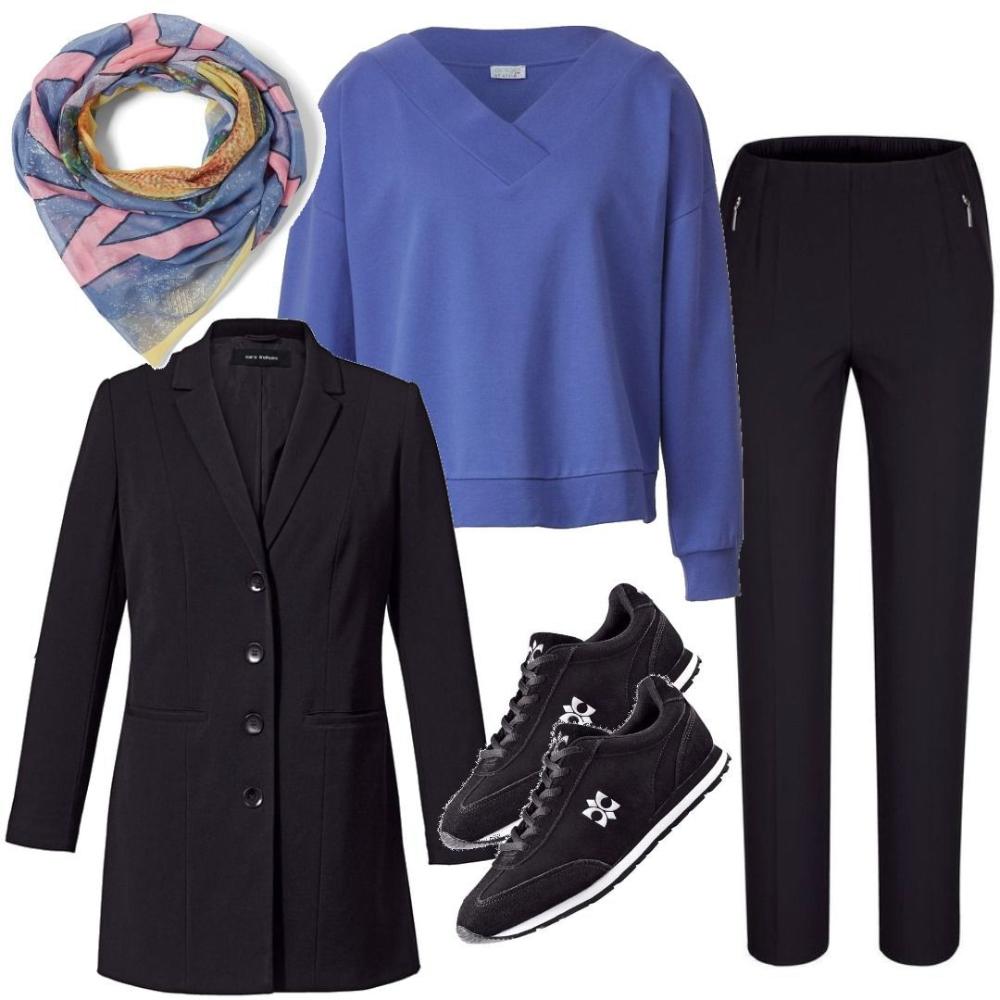 Damen Übergrößen Mode Plus Size Jacken Blazer Mantel Große