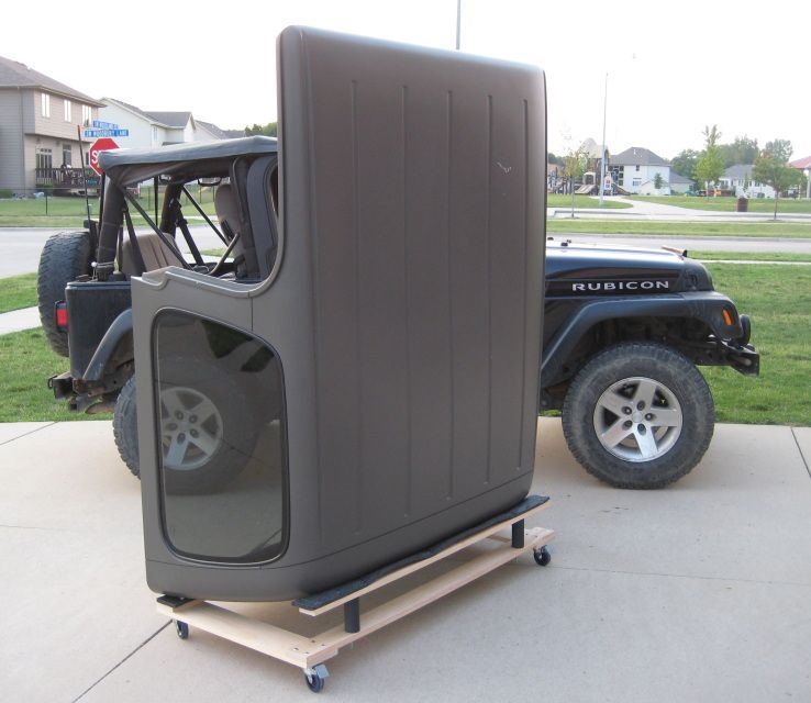 Jeep Hardtop Storage Rack