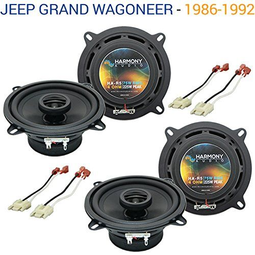 Auto speaker wire gauge guide wire center jeep grand wagoneer 1986 1992 oem speaker replacement harmony 2 r5 rh pinterest com speaker wire gauge calculator stereo speaker wire gauge chart keyboard keysfo Images