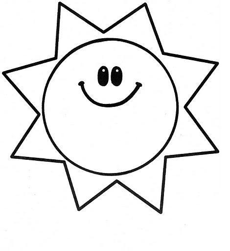 resultado de imagen de sol dibujo blanco y negro plastilina