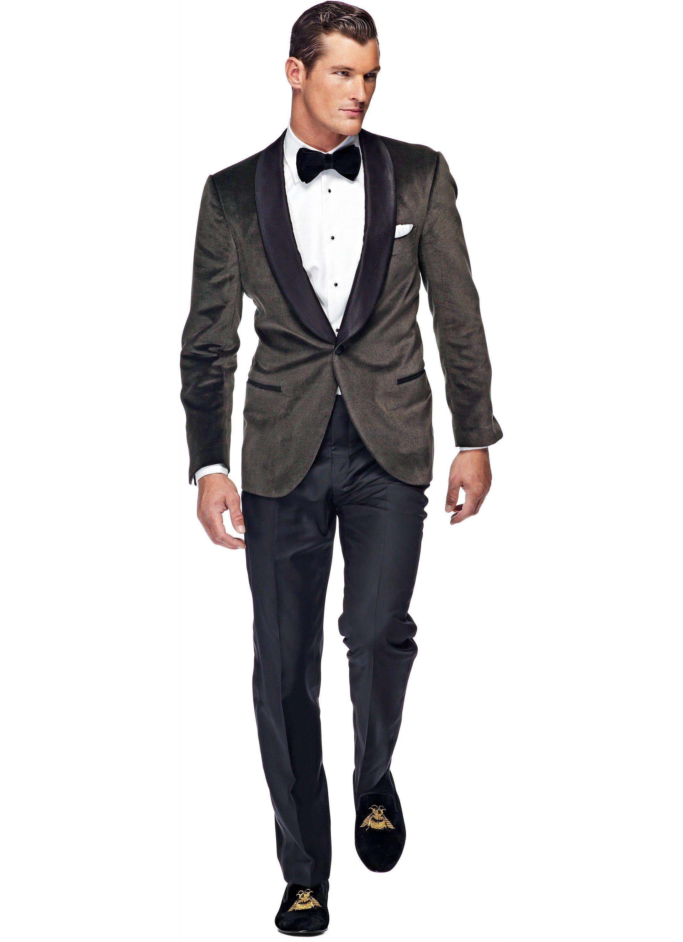 Dinner Jacket Dark Grey Plain (SuitSupply) | My Style | Pinterest ...