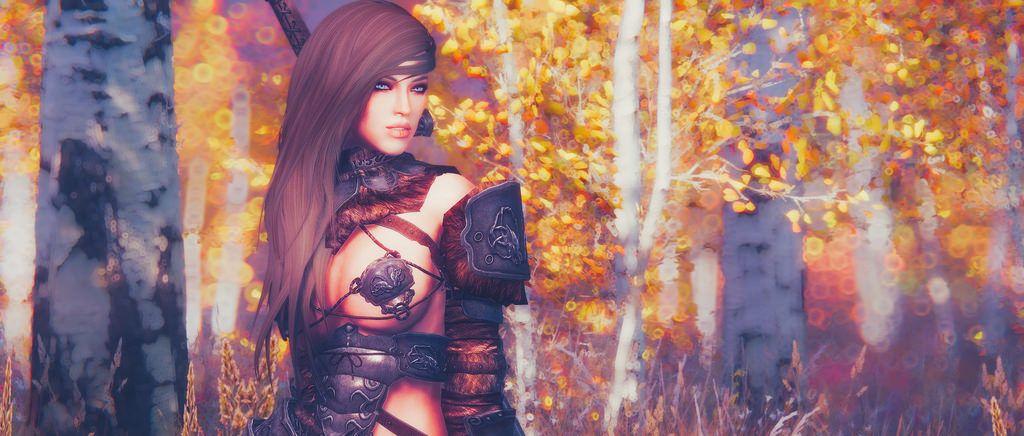 H E A T H E R - Standalone Follower at Skyrim Nexus - mods and