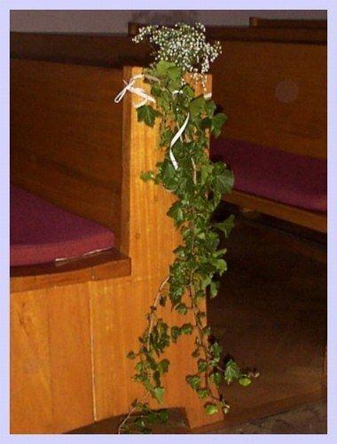 Unsere standesamtliche Trauung 17. Juli 2004 - #decorationeglise #decorationeglise