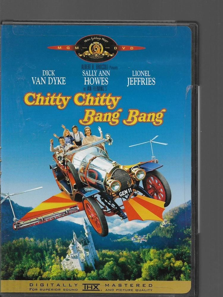 Chitty Chitty Bang Bang  DVD Dick Van Dyke