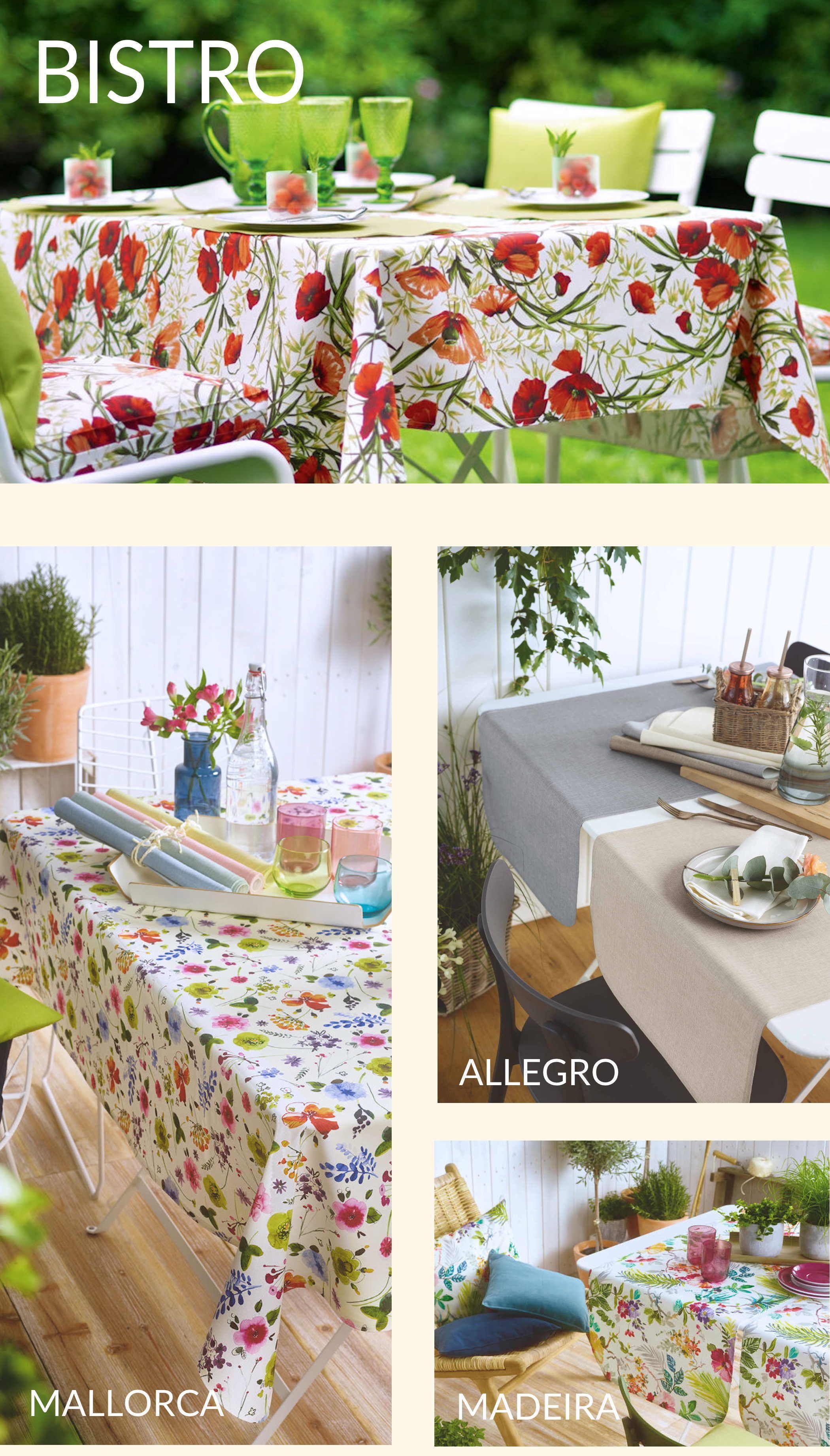 Abwaschbare Tischdecken Gartentischdecke Sander Tischwasche Haus Deko