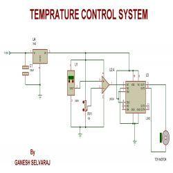 Temperature Control Circuit Diagram | Circuit Diagram For Temperature Controlled System Projects To Try