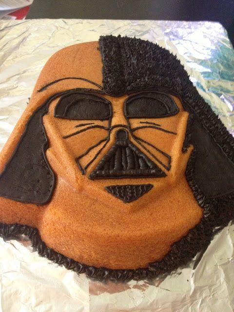 Sheri Lynns Cakes Darth Vader Birthday Cake Star Wars Birthday