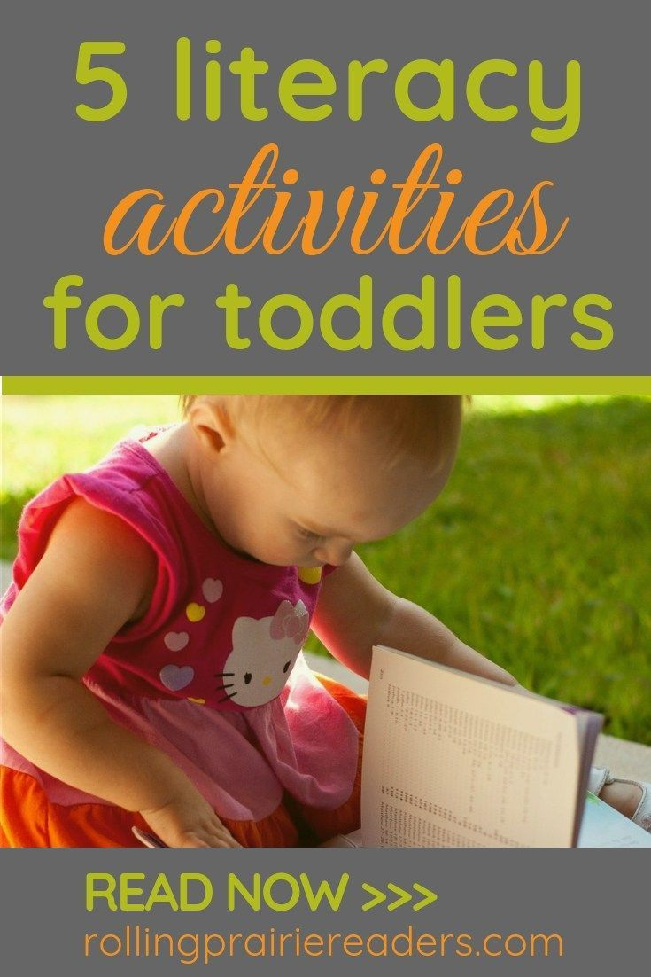Early Literacy Tips For Parents of Toddlers   Literacy ...
