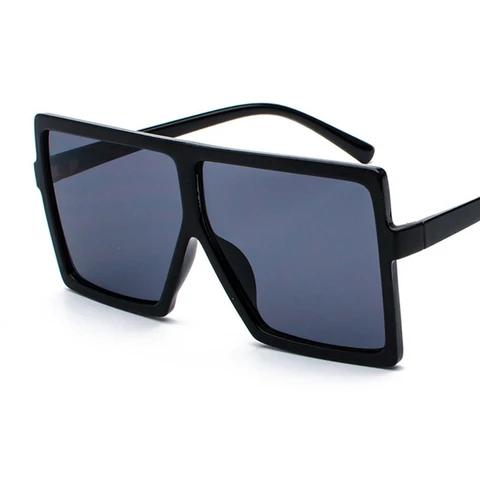 Black Frames Oversized Sunglasses Foldable Sunglasses Fashion Sunglasses Round Shades Hip Hop Sunglasses Luxury Sunnies
