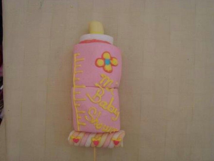 Baby shower marshmallow treats   marshmallow pops ...