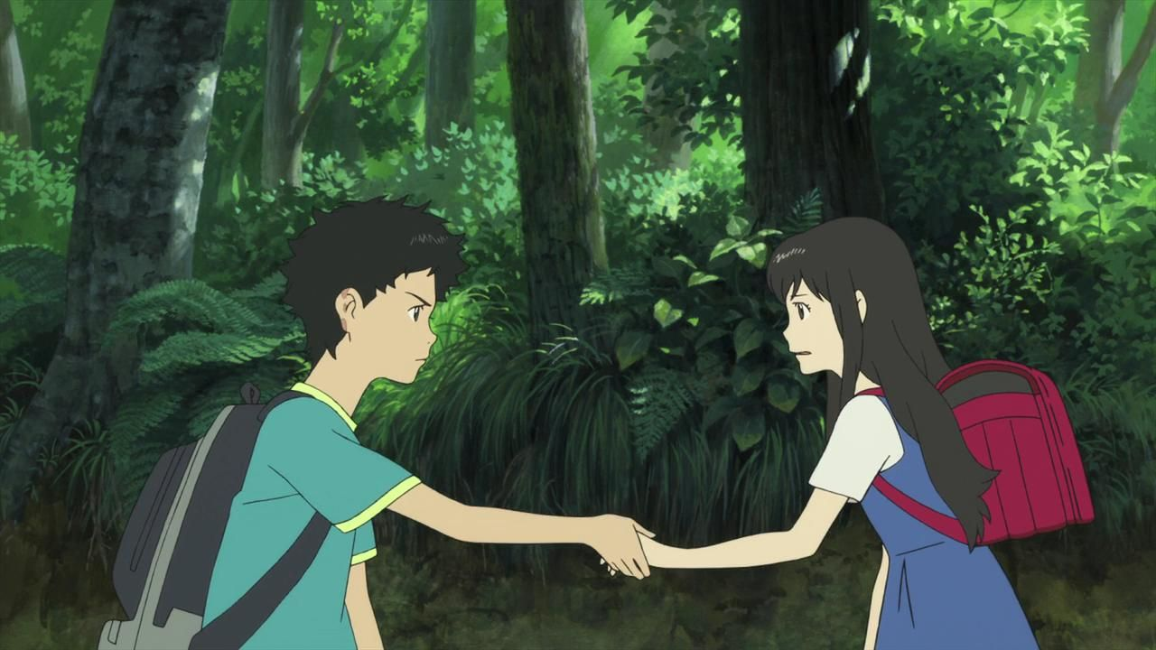 Wolf Children Yuki And Souhei Gif