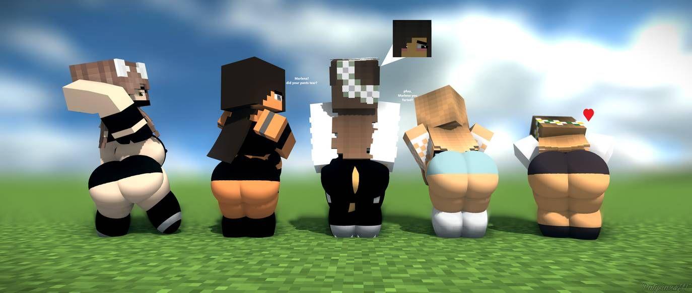 Minecraft Ass Vore
