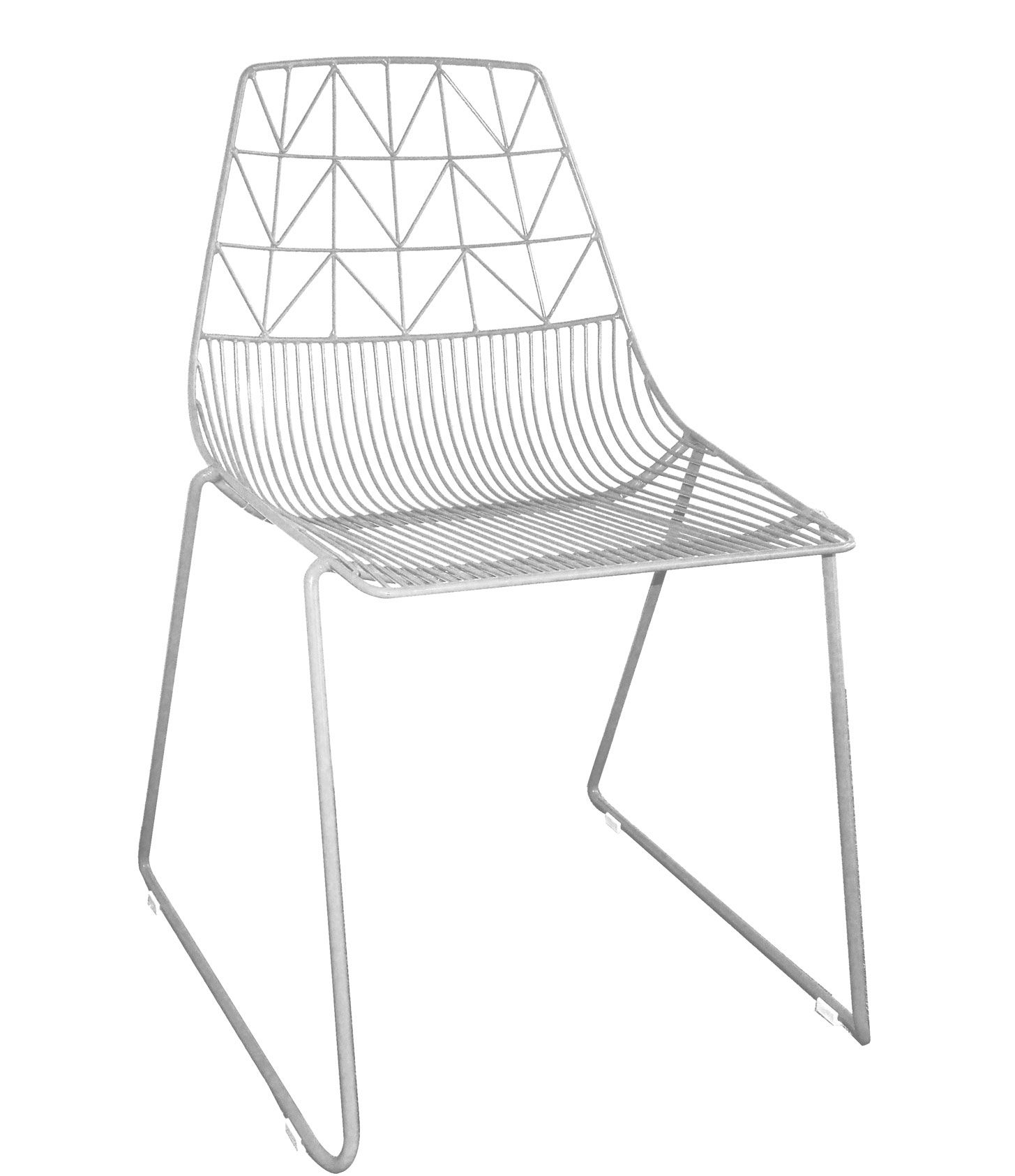 Arrow Chair - White