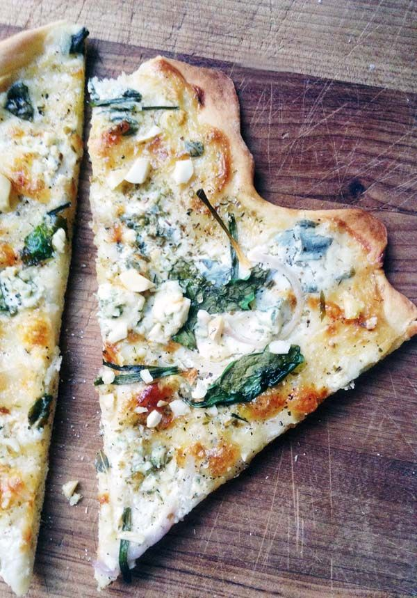 Pizza bianco / valkoinen pizza - Pics, dots and stripes | Divaaniblogit