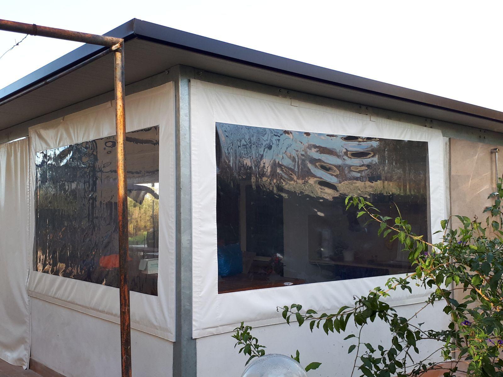 pannelli in Cristal antivento Esterno, Struttura, Villa