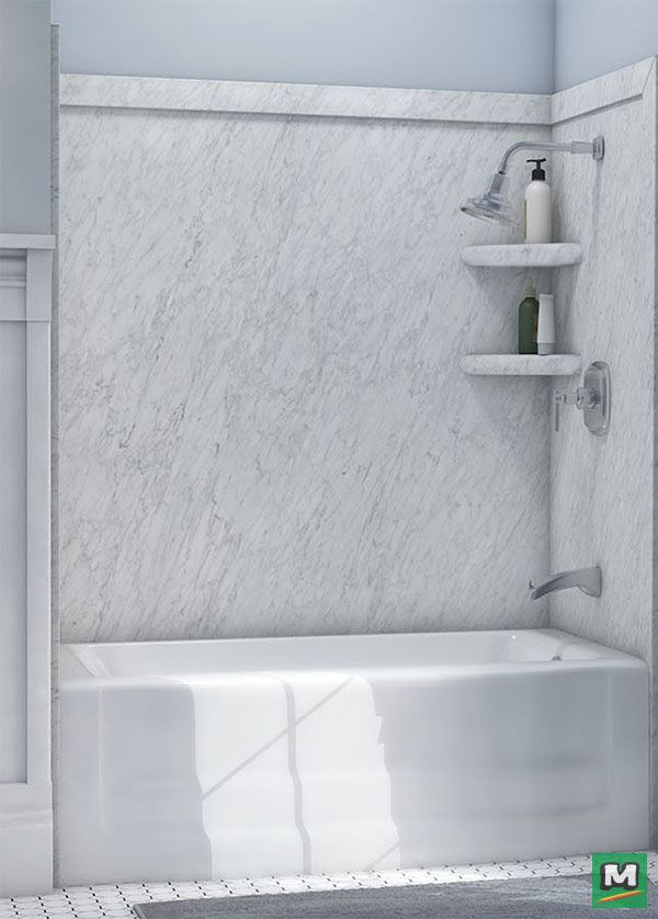 Surround yourself in luxury with this FlexStone Elite 3-Panel Tub ...