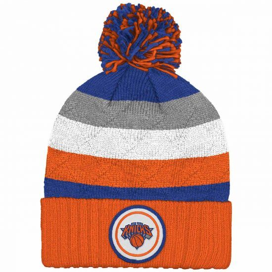 7d1ef314e3f New York Knicks NBA Basketball Mitchell   Ness Knit Beanie  NewYorkKnicks   Knicks  MitchellandNess  NBA  Beanie