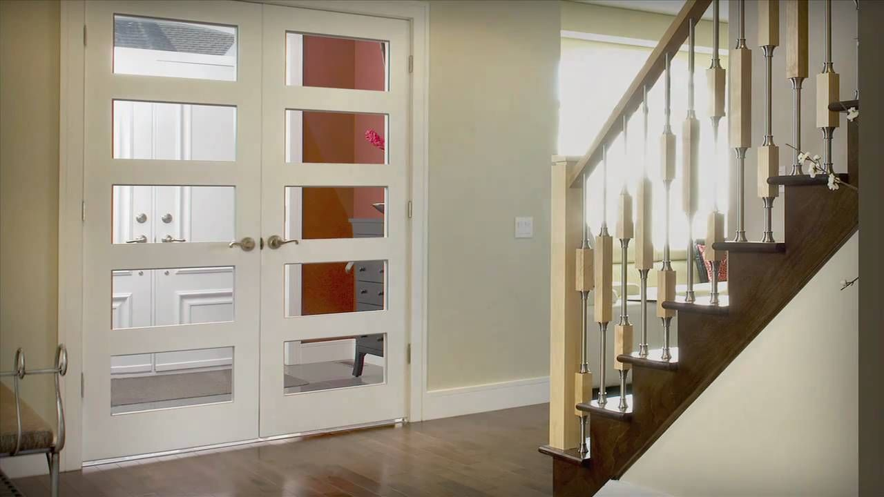 Installation of a double door unit french doors pinterest internal double doors howdens doors may appear more challenging to fasten due to how they close at first instead of closi rubansaba