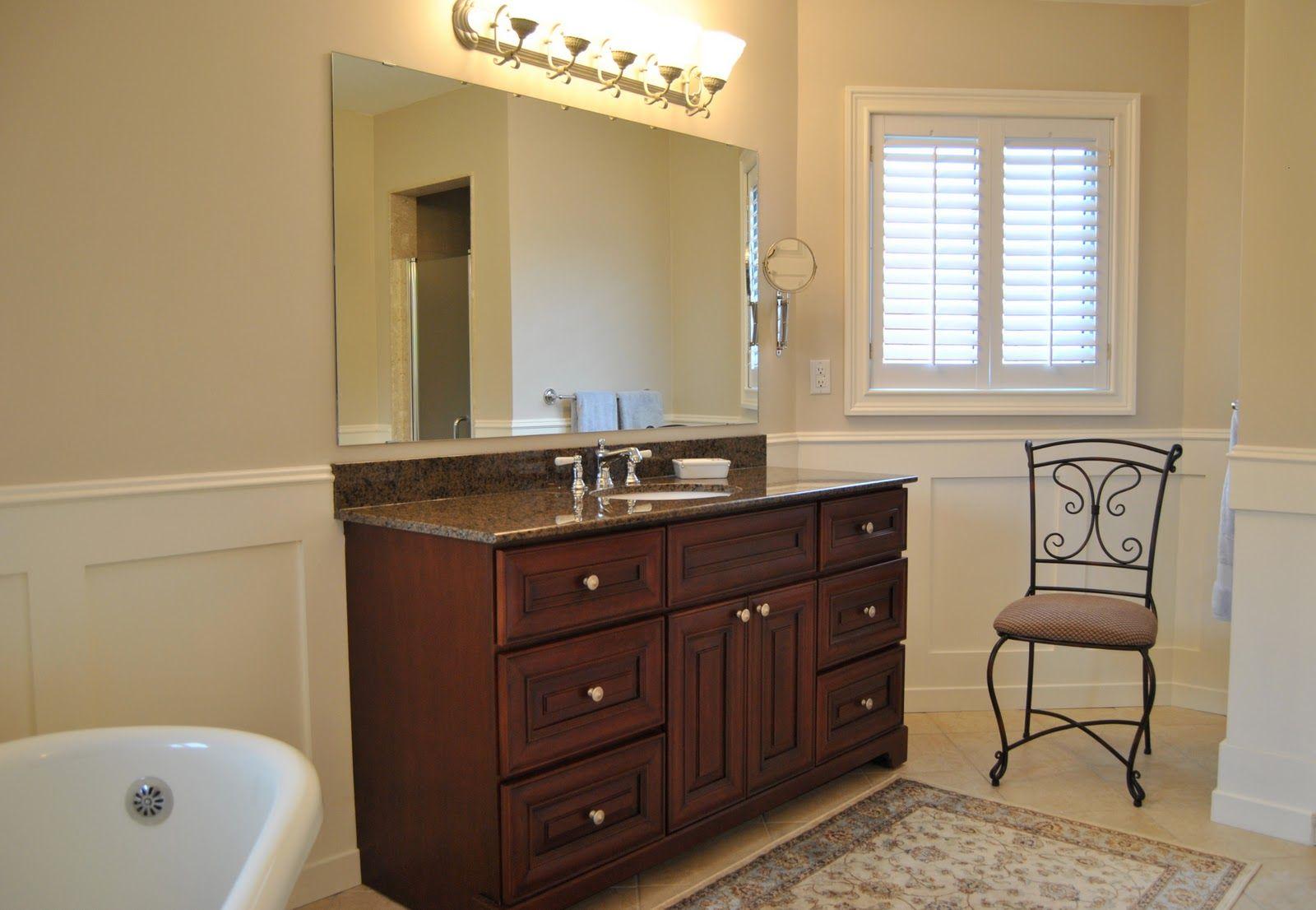 Wainscoting bathroom design trim work shaker style and wainscoting