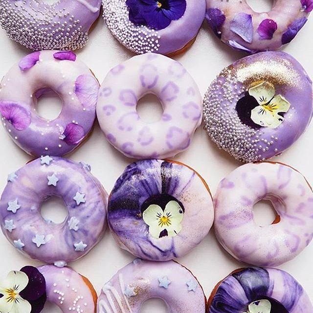 Best Ever Homemade Bread - The Craft Patch | Recipe | Purple desserts, Purple food, Donut images