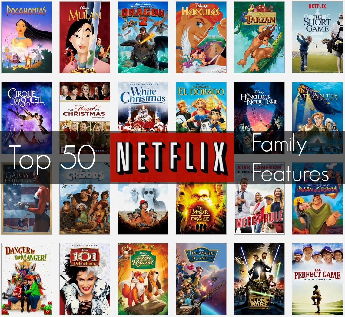 Top 50 Family Features on Netflix | Netflix family movies, Netflix movies  for kids, 90s family movies