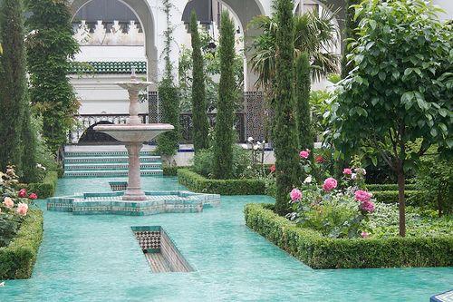 moorish gardens - Google Search