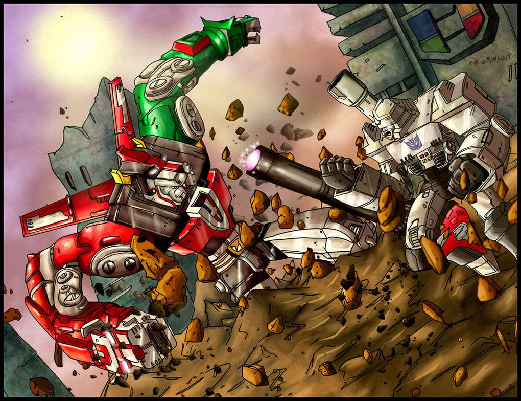 megatron vs voltron | crossovers | Metal, Marvel vs ...