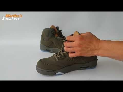size 40 32f57 5cc4b Martha Review Best Sneakers  Air Jordan 5 Navy Green