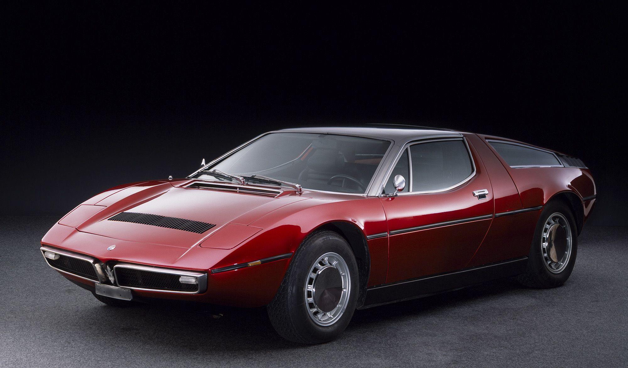 Maserati Bora Concept I Can T Afford Pinterest Automovil