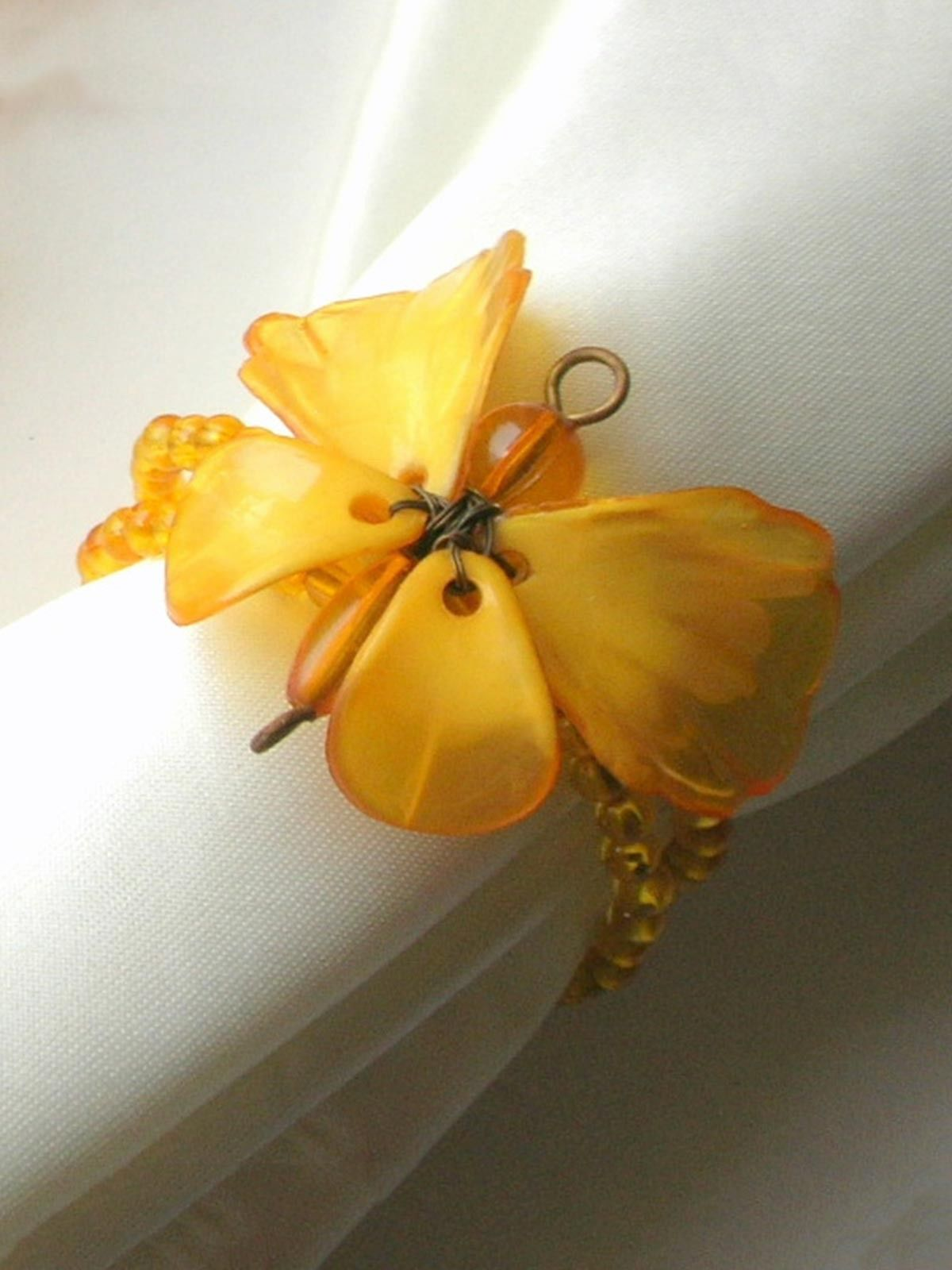 Dainty Butterfly Napkin Ring Yellow | Home Accessories | Pinterest ...