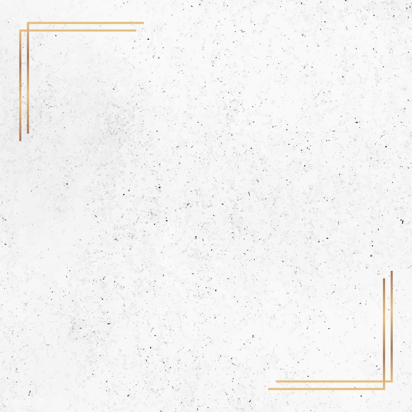 Download Premium Vector Of Gold Frame On White Marble Background