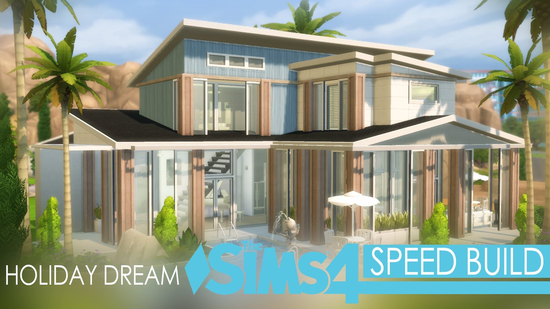 The Sims 4 - Speed Build - Holiday Dream