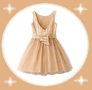 0022213675a magnifique robe cérémonie vertbaudet 2 ans 24 mois doré satiné en tulle