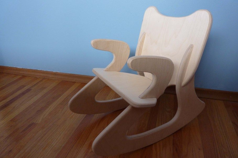 Create – Flat Pack Rocking Chair