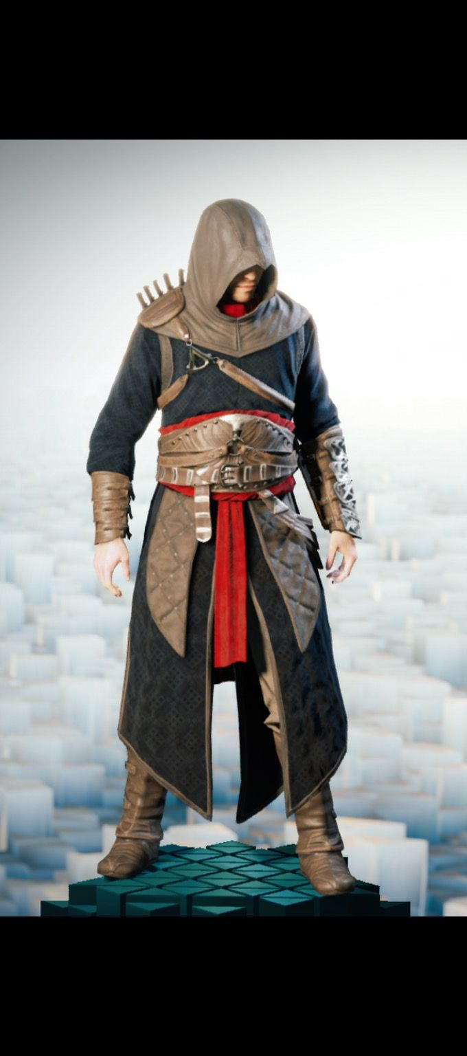 The 'Thomas de Carneillon Master Assassin Outfit'. #AssassinsCreedUnity #acu #5PercentClub