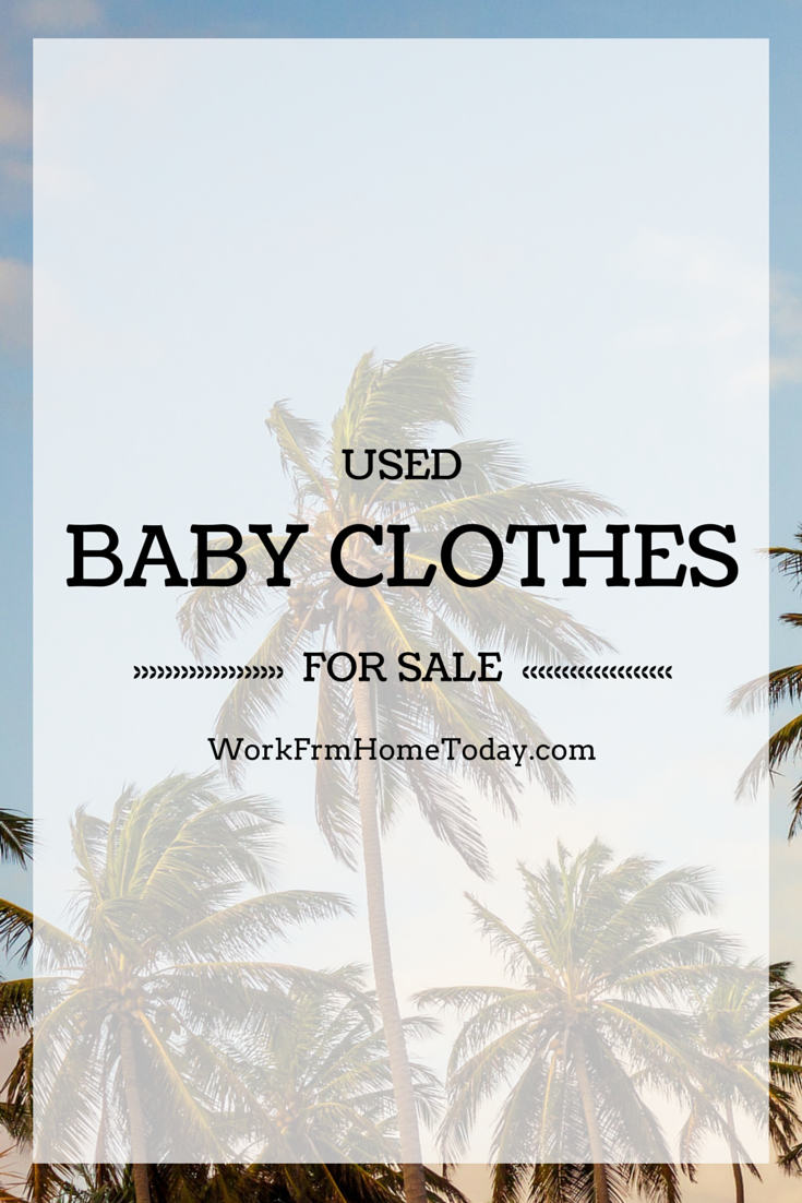 Don T Beg Your Family And Friends To Buy Your Used Baby Clothes