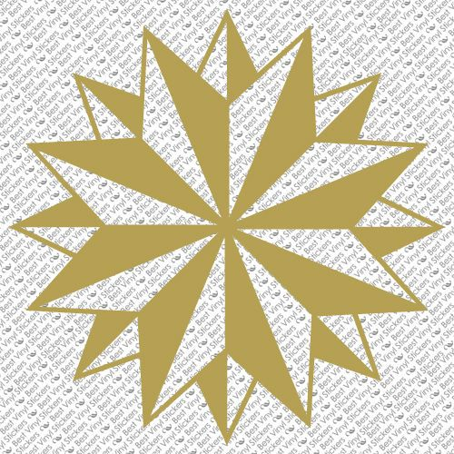 Tribal compass rose nautical star car boat bike window vinyl decal sticker c 6