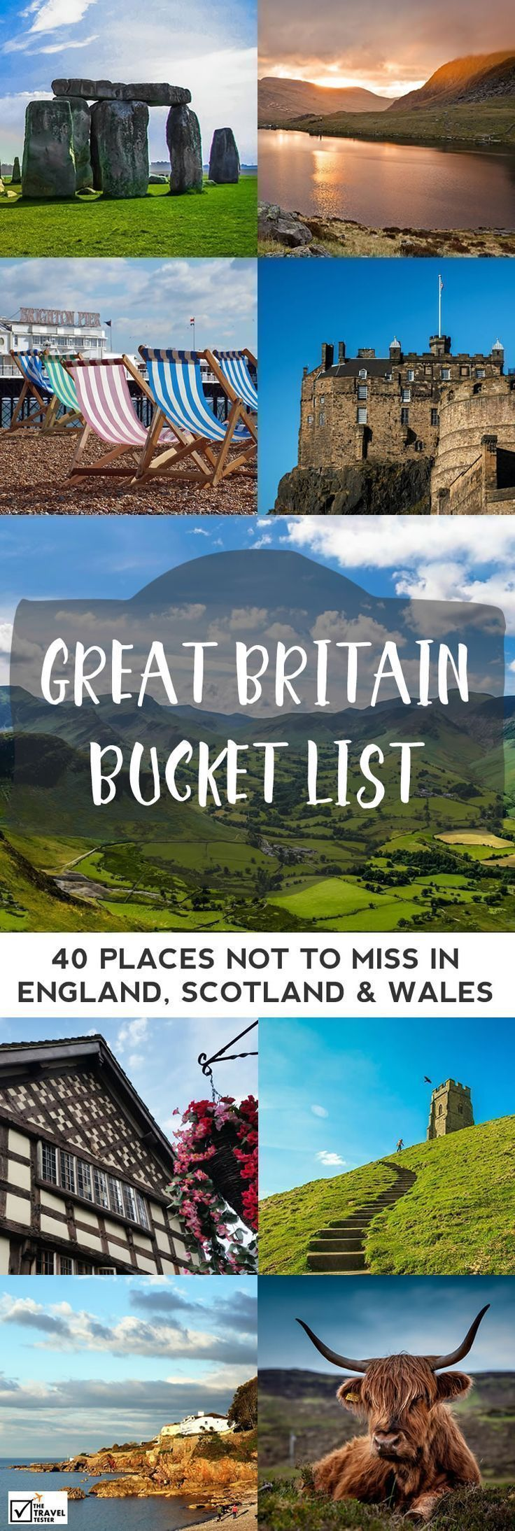 Map Uk Attractions%0A The Ultimate Road Trip Map of    Places To See Across Great Britain    Britain  Road trips and England uk