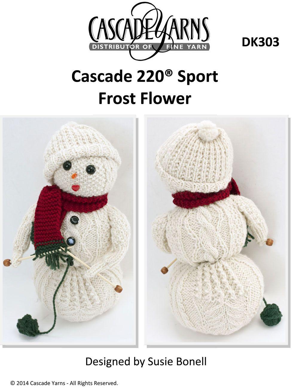 Frost Flower in Cascade 220 Sport - DK303 Free | meryl | Pinterest ...