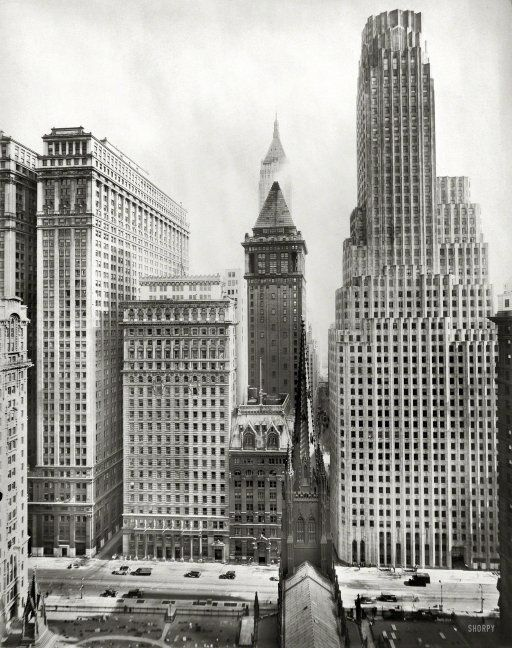 New York Circa 1931 Quot Irving Trust Building 1 Wall Street