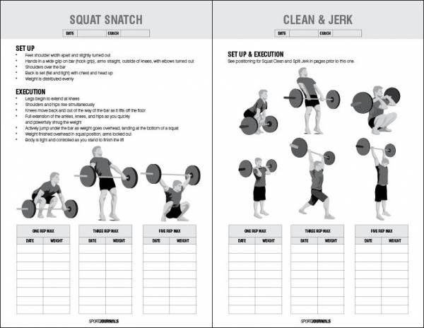 crossfit workout log pdf  u2013 blog dandk