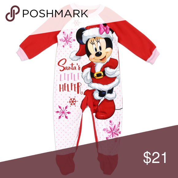 0e1700f2cd Holiday MINNIE MOUSE Girls Toddler Blanket Sleeper MINNIE MOUSE Girls  Toddler Blanket Sleeper Color  Red