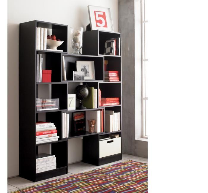 Crate & Barrel Puzzle Bookcase