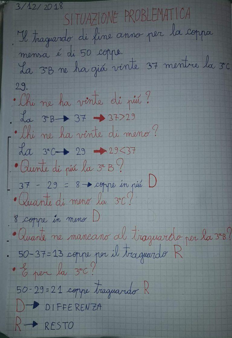 Matematicando in classe terza. (5) Che problema i problemi ...