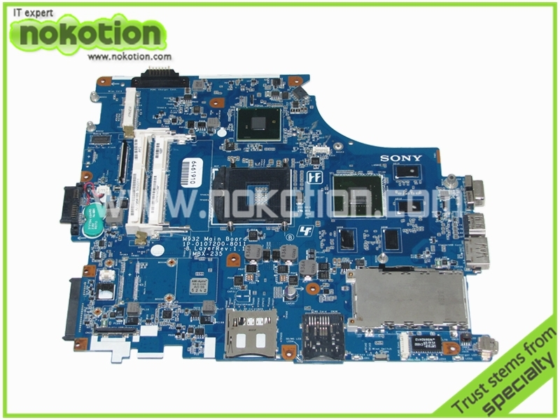 62.10$  Watch here - http://alitoa.worldwells.pw/go.php?t=32341386551 - laptop motherboard for SONY VAIO VPCF A1796418B 1P-0107200-8011 Rev 1.1 MBX-235 M932 PM55 Nvidia GeForce GT425M DDR3 62.10$