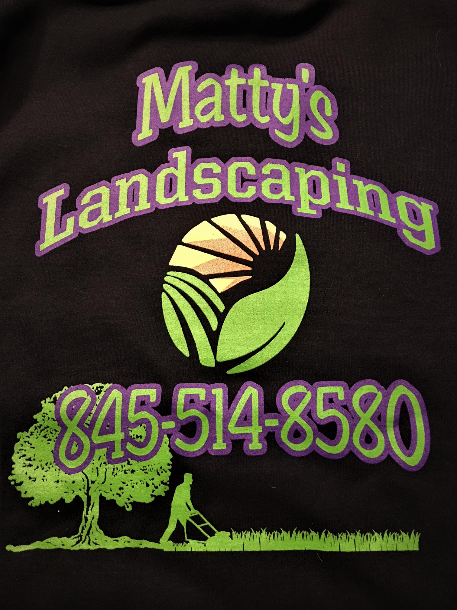 Mattys_logo_(2) Driveway repair, Fall clean up, Cleaning