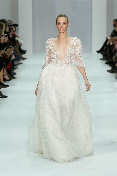 elie saab norma wedding dress