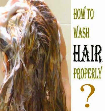 How To Wash Hair Properly - Fashion Book